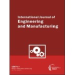 International Journal of Engineering and Manufacturing