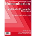 Humanitarian and Socio-Economic Sciences